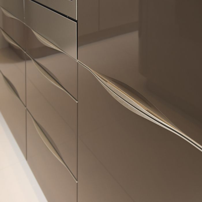 Modern Kitchen Cabinet Recessed Pull Pulls We Re Getting Our S Will Be White And The Won T Have That
