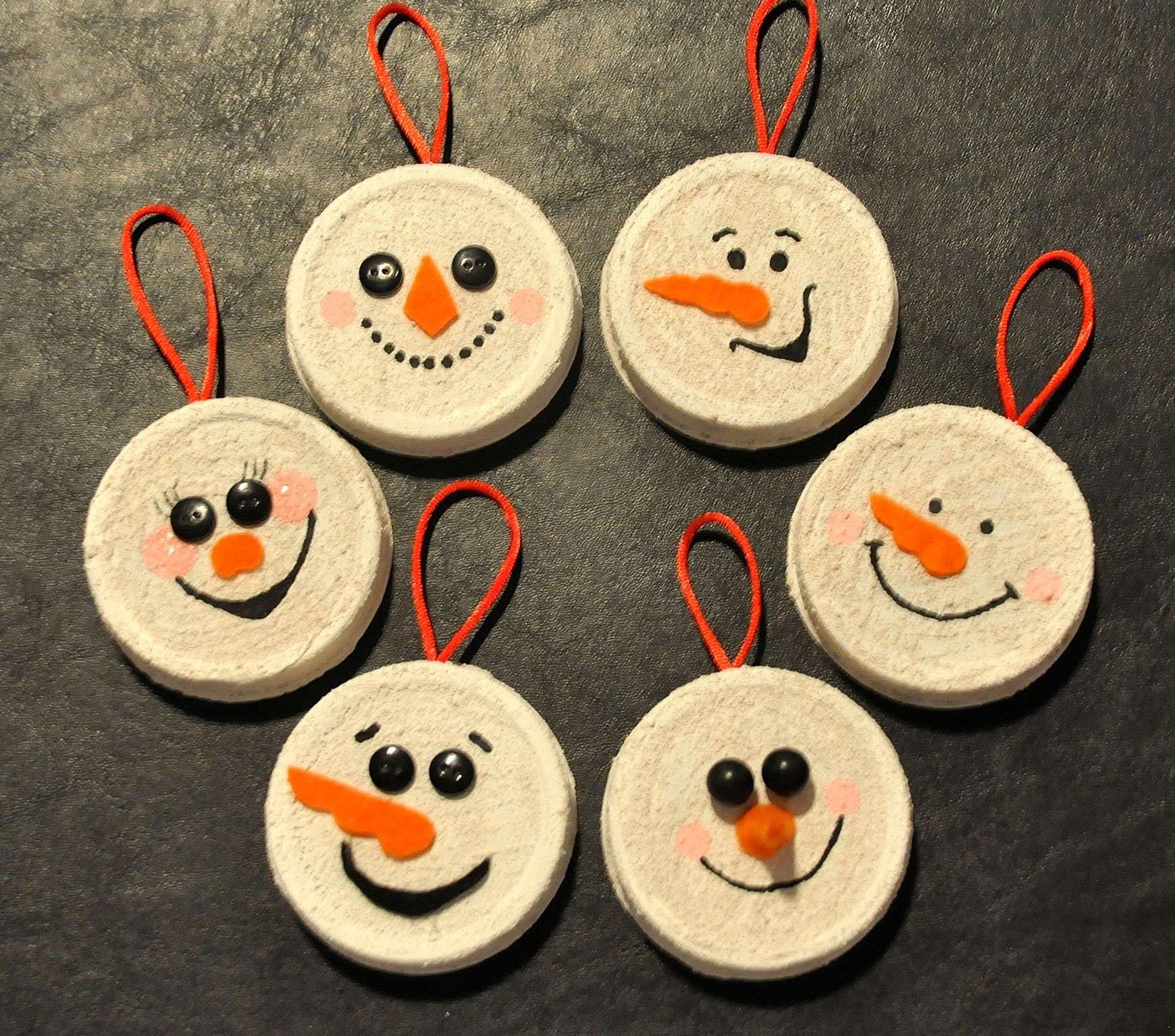 10+ Mason jar lid snowman craft info