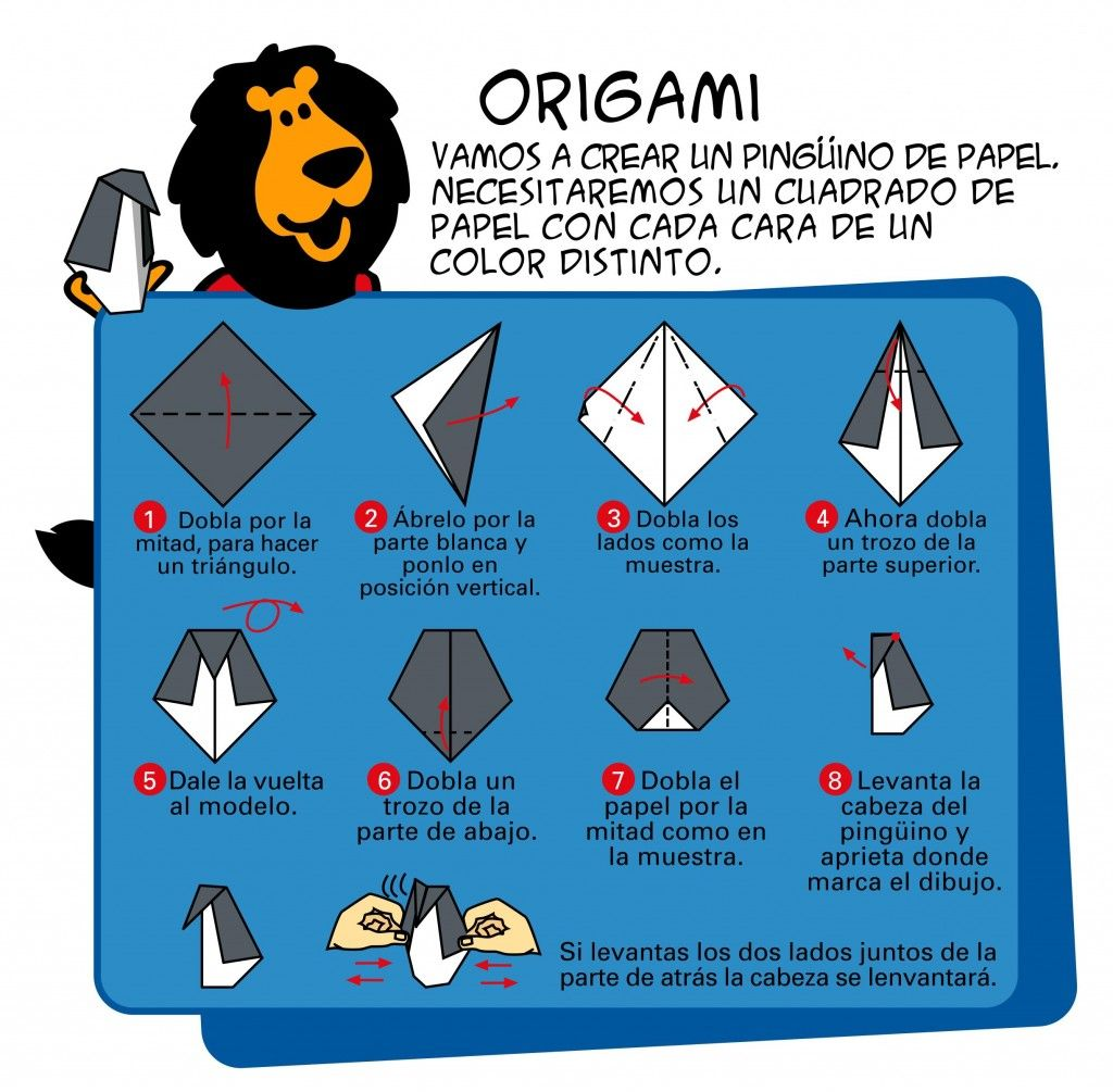 Origami Crafts Paper Pinterest And 3d Swan Diagram Http Howtoorigamicom Origamiswanhtml Oragami Penguin Party Animals School Lunches