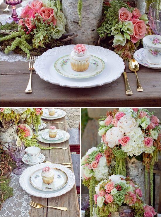 mywedding estilo shabby chic para la decoracin de la boda shabby chic