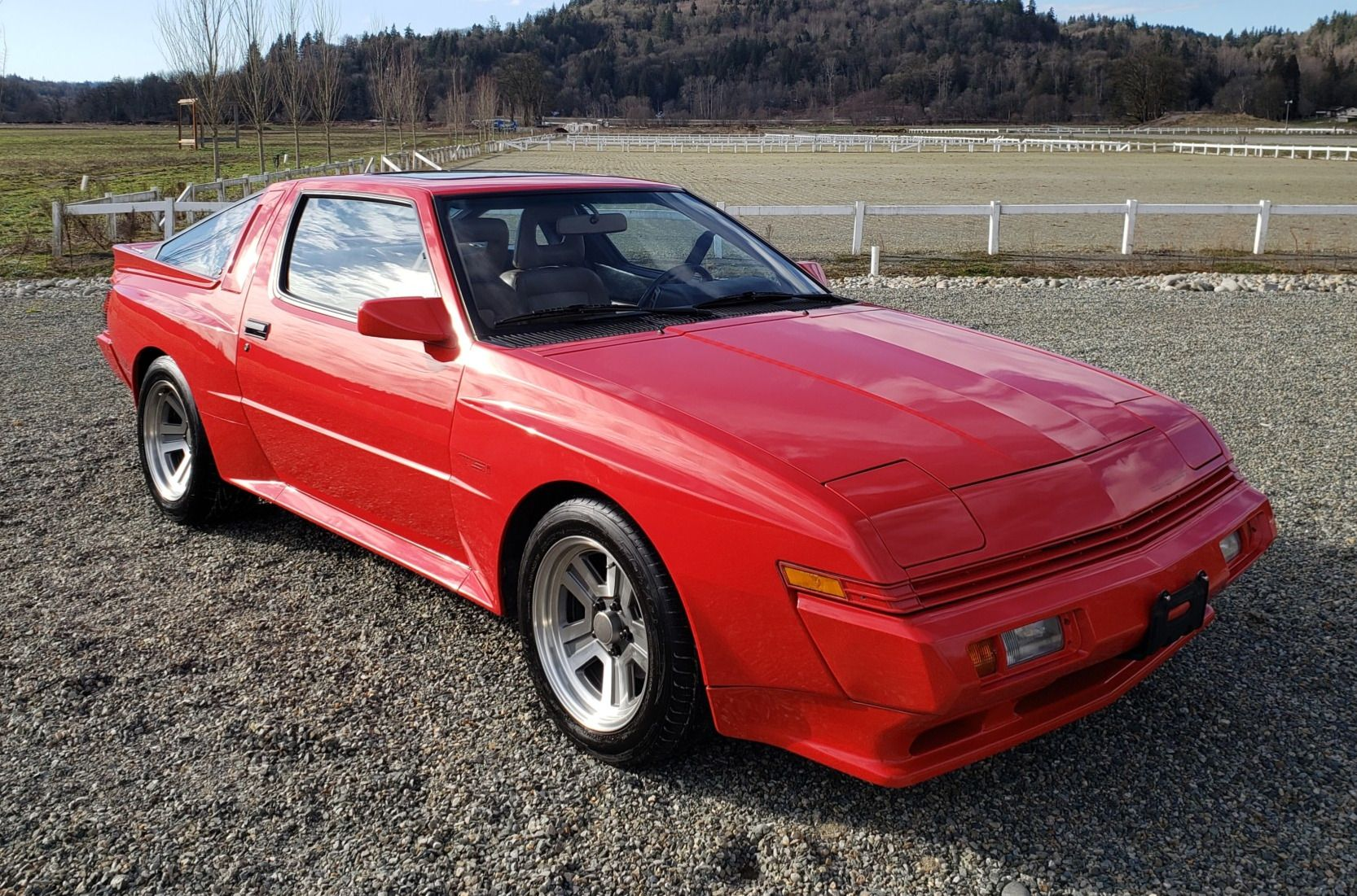No Reserve 40k Mile 1988 Chrysler Conquest Tsi 5 Speed Chrysler