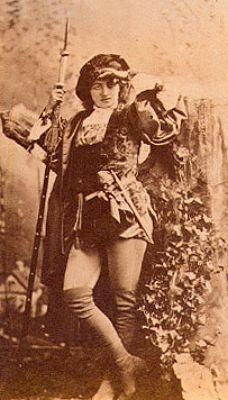 Modjeska as Rosalind in Shakespeare's 'Twelfth Night'