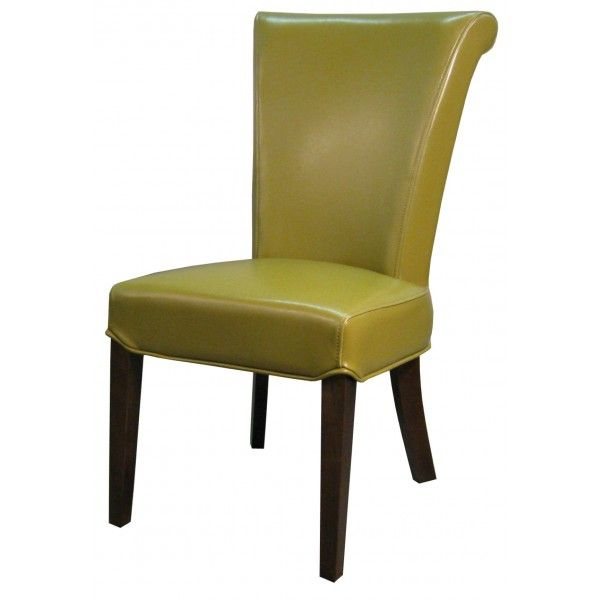 4 dining chairs in wasabi green to replace the mismathched chairs