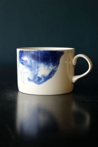 Indigo Storm Collection by Faye Toogood for 1882Ltd - Mug With Handle