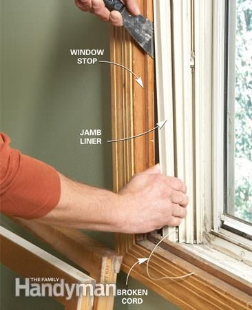 How To Replace Window Jamb Liners Window Jamb Window Replacement Home Improvement