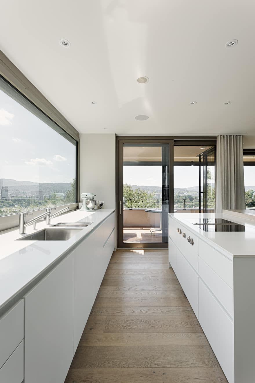 Moderne Kuchen Ideen Design Und Bilder Homify Architekt Haus Architektur Architekt Zurich