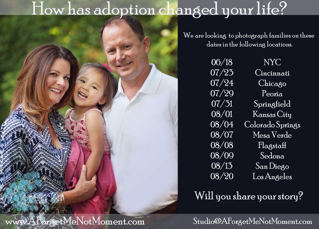 Seeking adoptive and those friends and family of adoptive