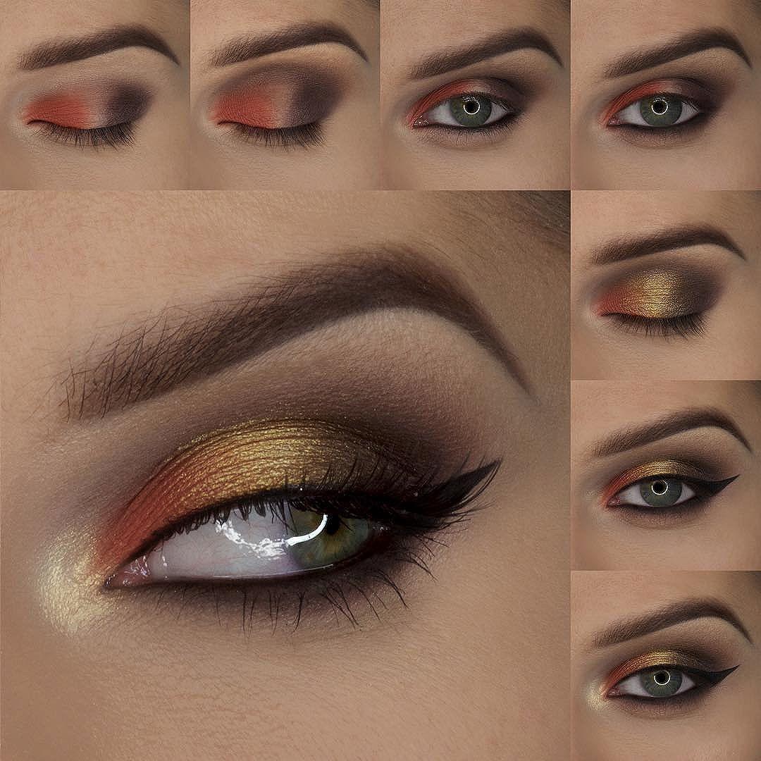 макияж вертикальный пошагово фото возникают волны недовольства