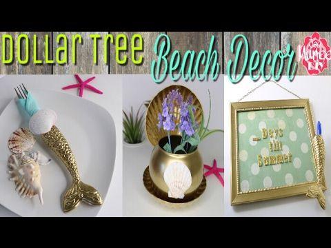 Dollar Tree Diy Beach Themed Decor Perfect For Beach Themed Home