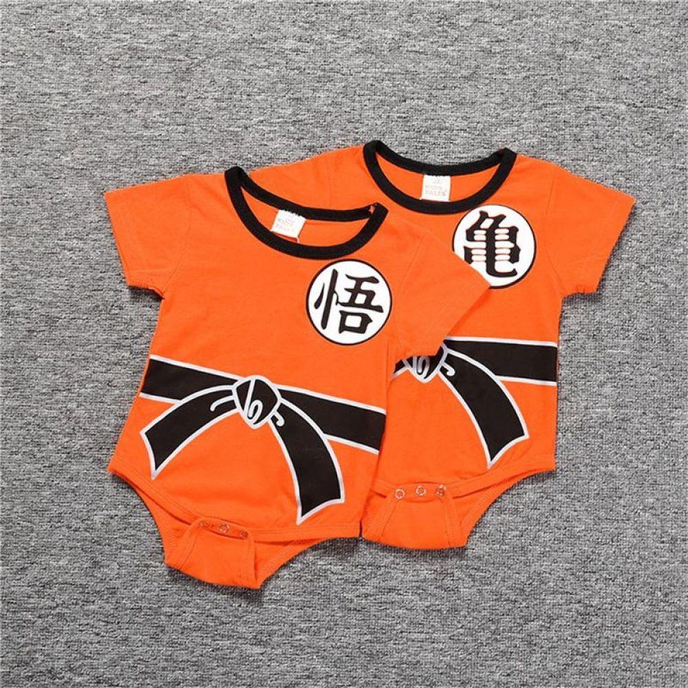7251e7690db91 Baby Rompers Summer Newborn Baby Short Clothe SON GOKU Toddler ...