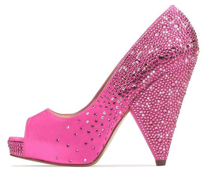 Fuchsia Evening Shoes