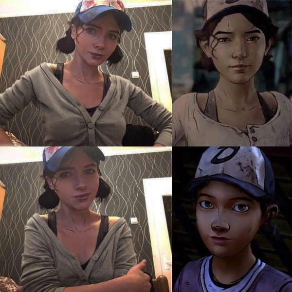 Crazy Good Clementine Cosplay From The Walking Dead Game