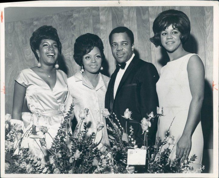 Image result for berry gordy supremes