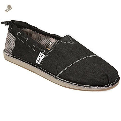9a95bc8621081 BOBS from Skechers Women's Chill Boat Shoe,Black,5 M US - Skechers ...