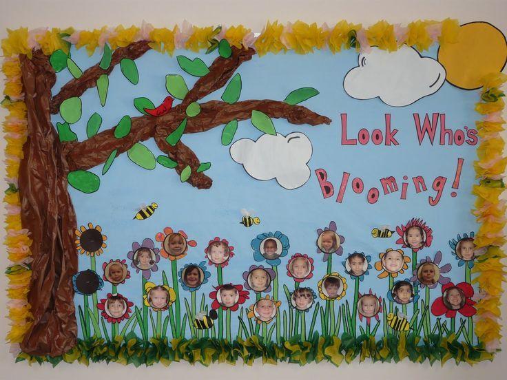 Preschool Spring Bulletin Board Ideas Novocom Top