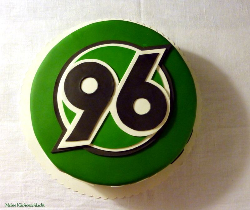 Hannover 96 Torte  Fondant Cakes  Hannover 96 Fondant cakes und Hannover