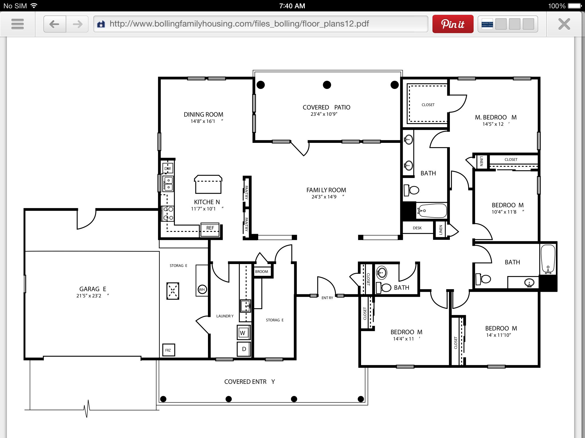 Bolling Afb Ada Home Floor Plans How