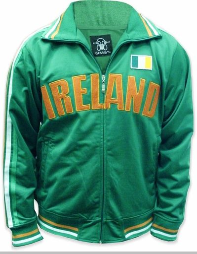 cacd8025f07 International World Cup Track Jackets -- Ireland Soccer Jacket (Kelly  Green)  worldcup  fifa  soccer  futbol