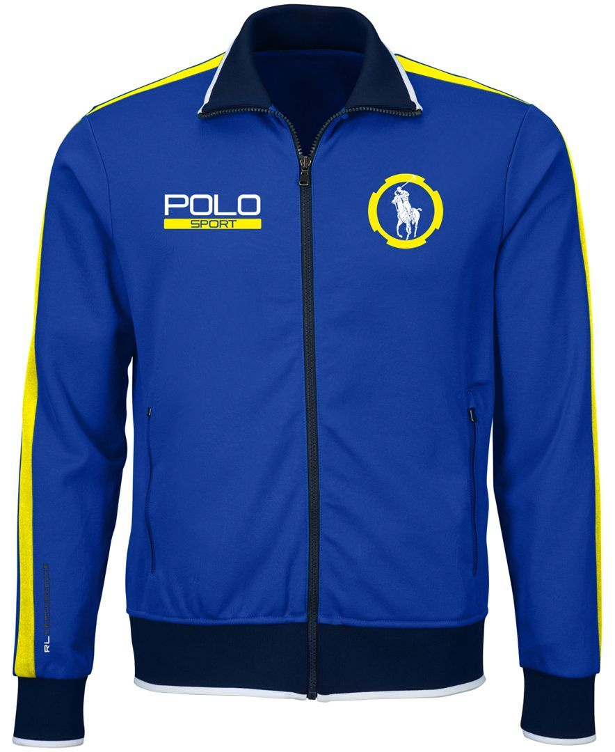 Polo Ralph Lauren Pique Track Jacket (With images