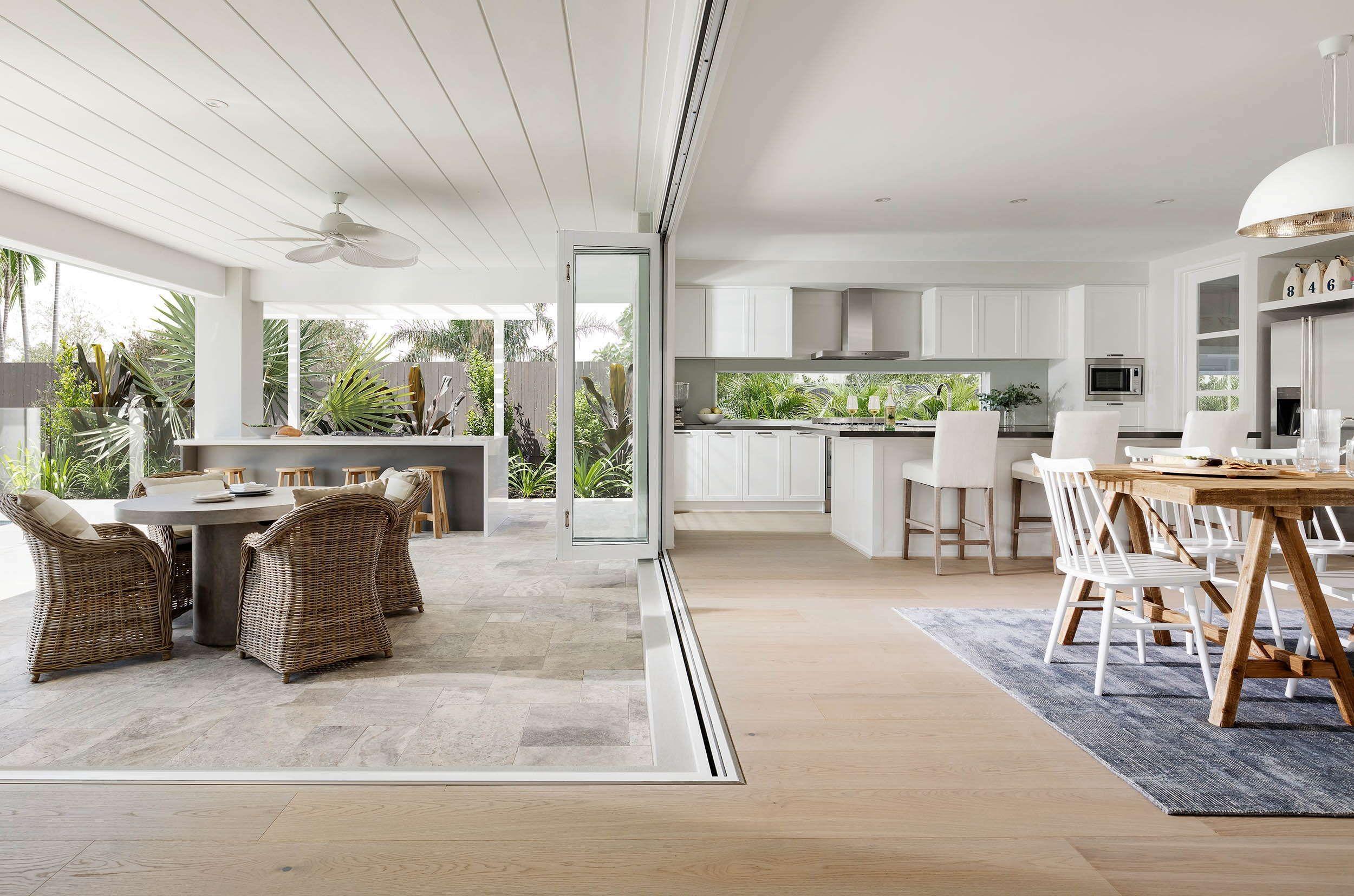 Trinity 40 Dining, Kitchen and Alfresco Interior design