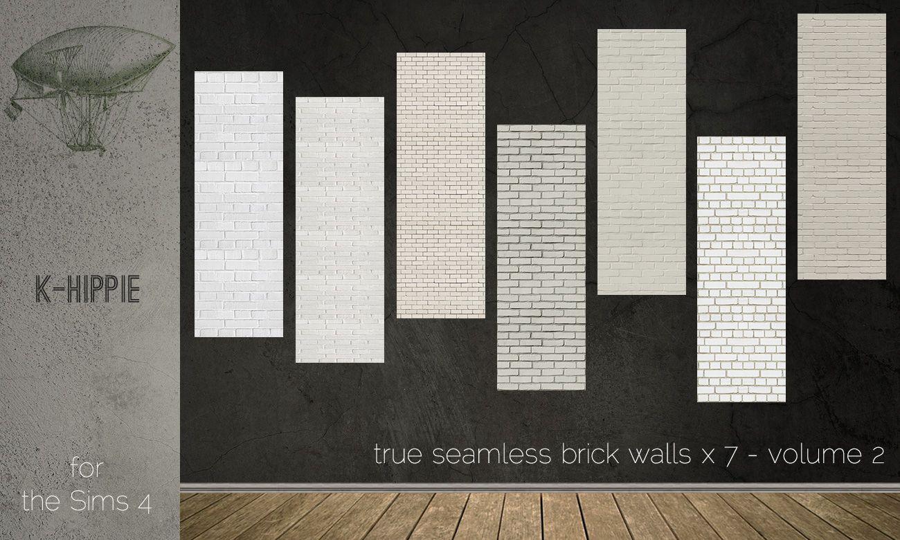 7 Brick Walls Full Seamless Volume 02 Brick Wall Fabric Wall Wall