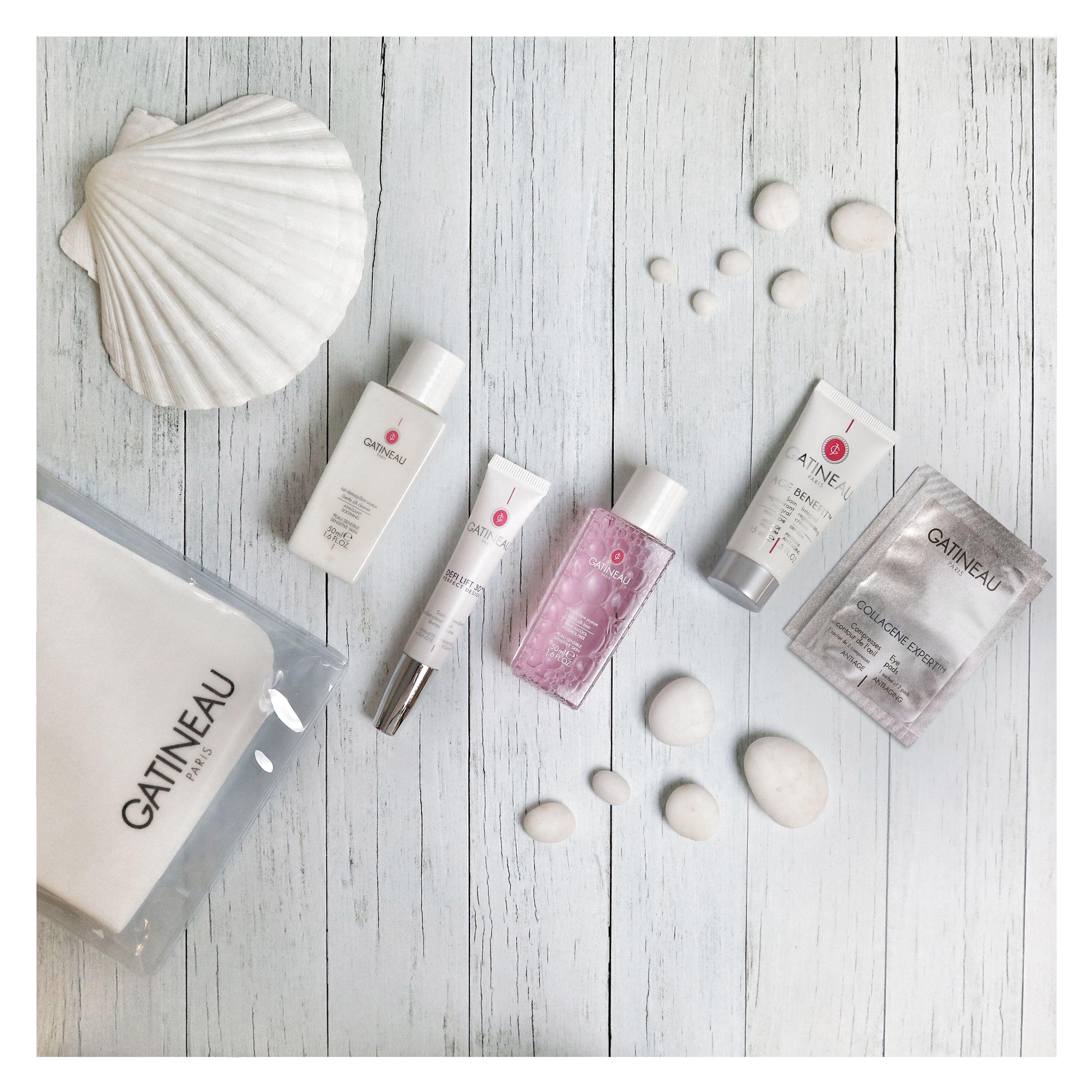 Gentle Silk Cleanser, DefiLift 3D Revolumising Lip Care, Gentle Silk Toner, Age Benefit Integral Regenerating Cream and Collagene Expert Eye Pads