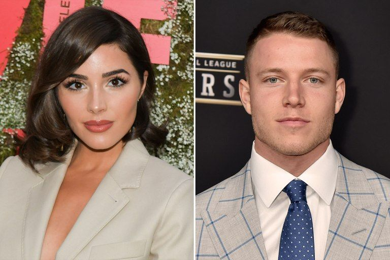 Meet The Sweet New Celebrity Couples Of Summer 2019 Christian Mccaffrey Olivia Culpo Nfl Players