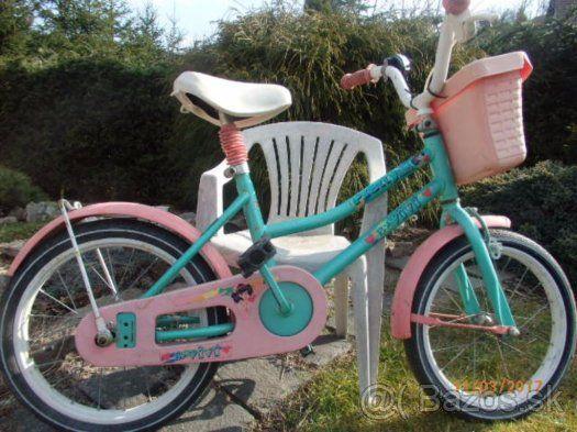 Detský bicykel dievčenský 16 - 1