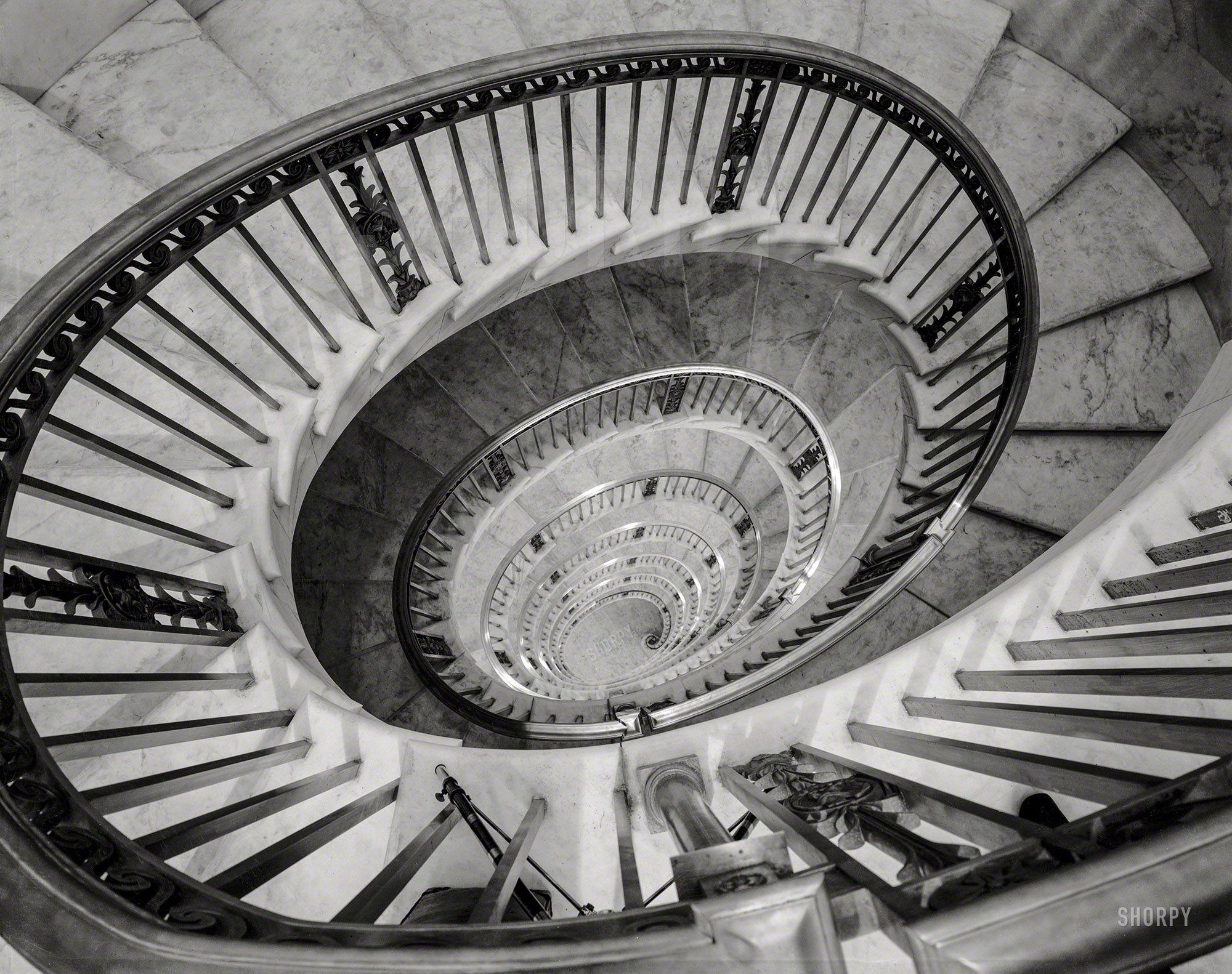 Downward Spiral Washington D C Circa 1936 U S Supreme Court