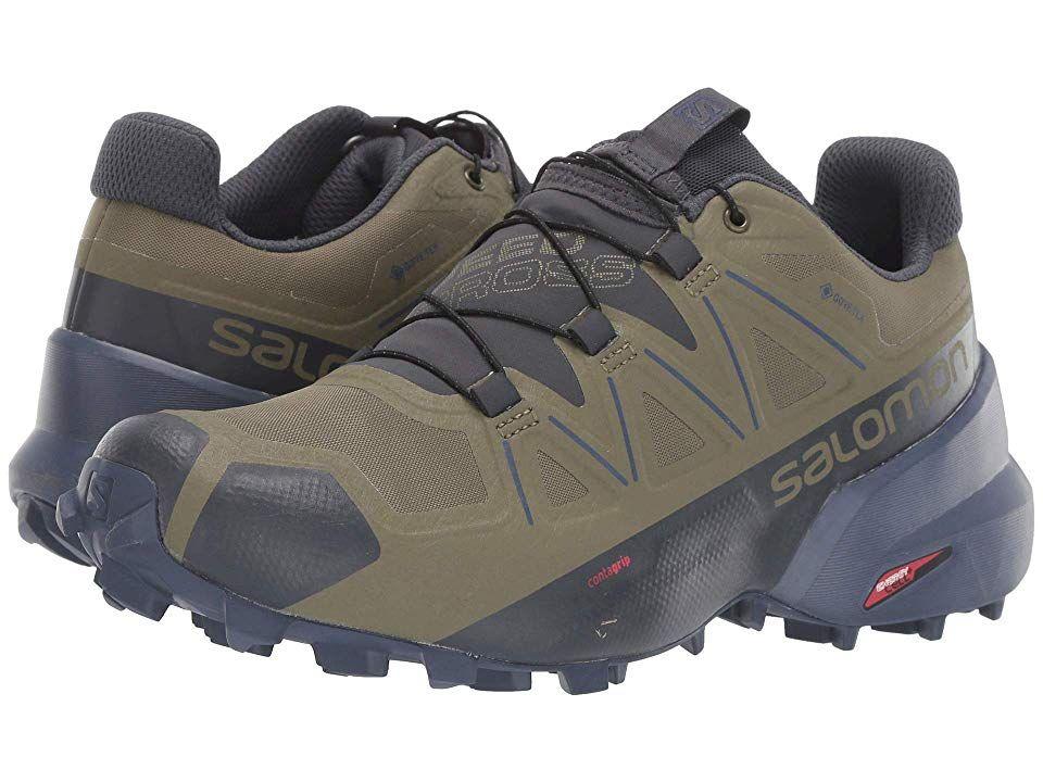 Salomon Speedcross 5 Gtx Mens Sport Sneakers Mens Nike Shoes Adidas Shoes Mens