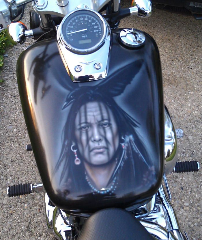 airbrushfrankhazen com | harley davidson | Motorcycle paint
