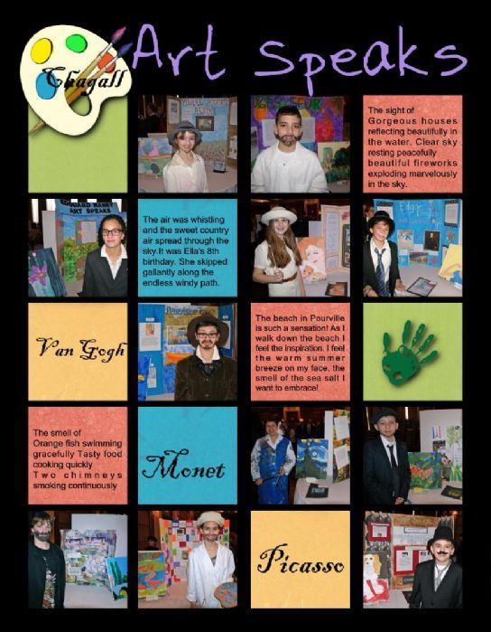 elementary school yearbook page with candids on same page as ...