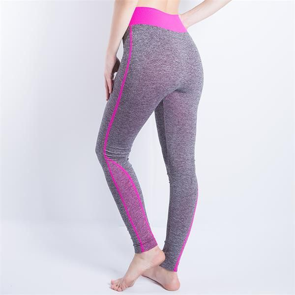 d6f651476b072 2016 Women Sexy Cropped Leggings High Waist Elastic Wicking Force Exercise  Female Elastic Stretchy Leggings Slim Trousers 34 C | Products | Pinterest  | ...