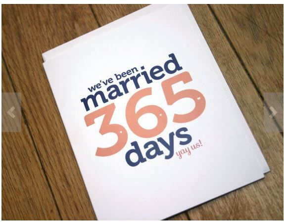 First Wedding Anniversary Card Paper The Traditional Gift For A Is So Why Not Give Your Other Half