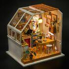Detalles acerca de Hazlo TÚ MISMO Casa de Muñecas de Madera Loft apartamentos Protector De Polvo Kit LED Navidad Cumpleaños Regalos- mostrar título original #miniaturekitchen