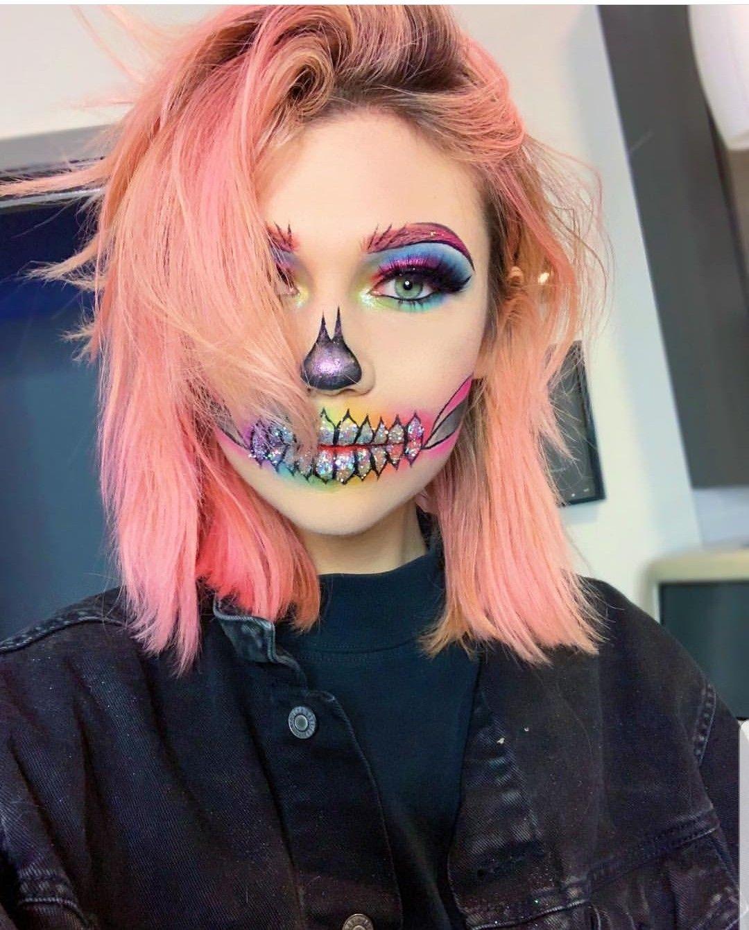 Pin by Kaylee Nicole on makeup looks Cool halloween