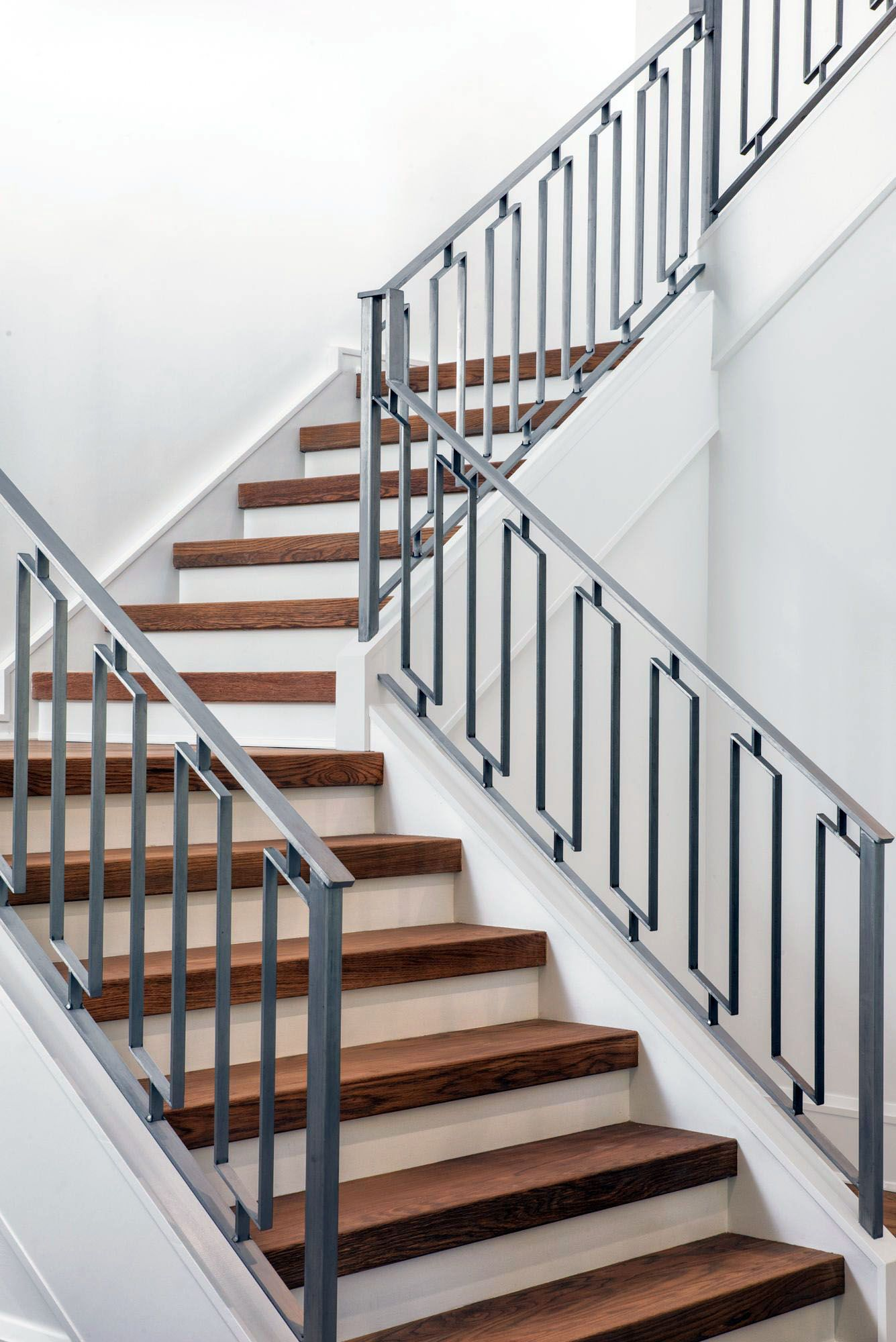 The Next Level 14 Stair Railings To Elevate Your Home Design Homes Tre Staircase Railing Design Stair Railing Design Staircase Railings
