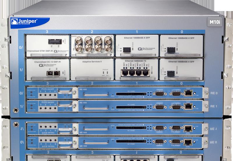 Juniper M10i Routers: Multi-Service Edge Routers for Medium