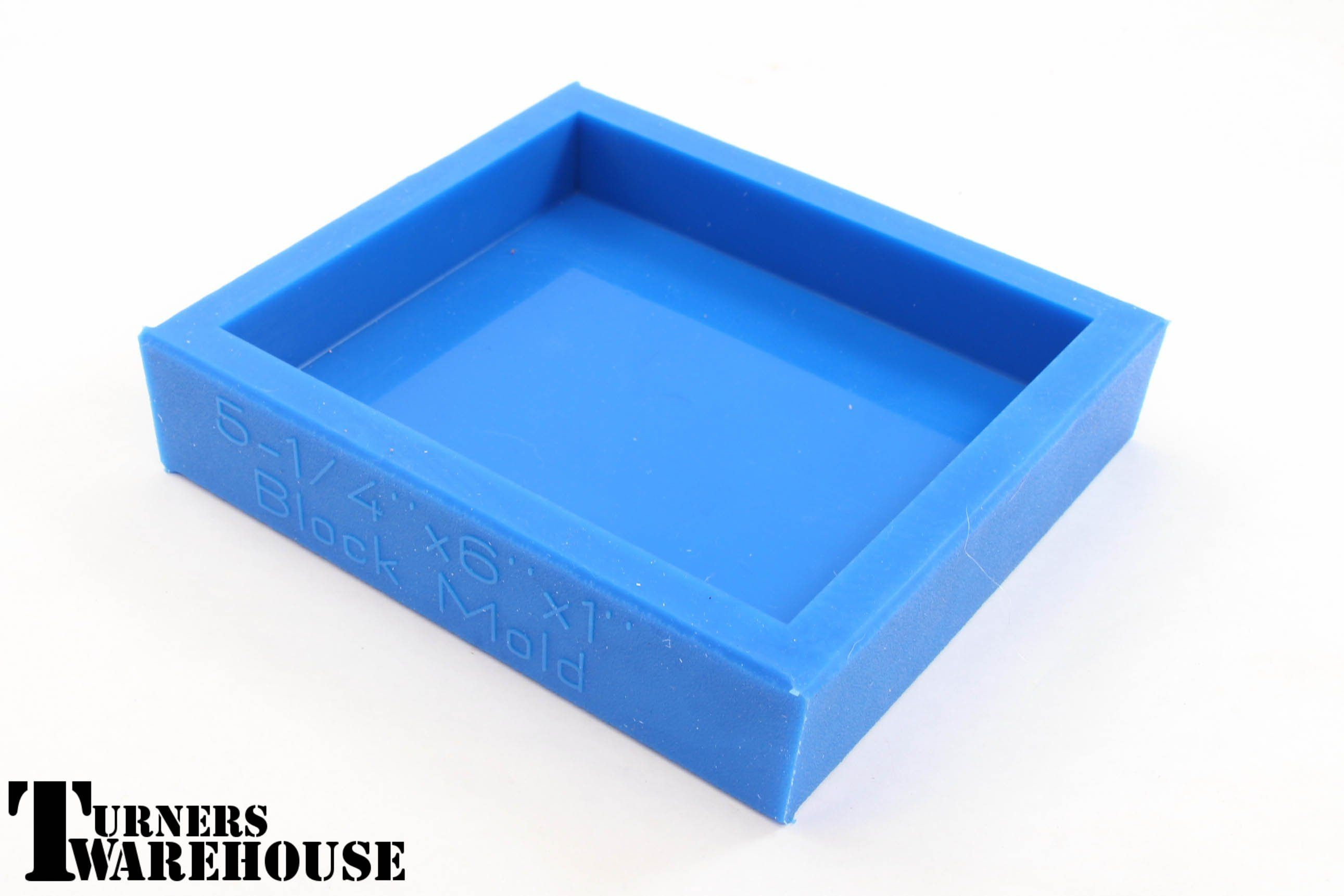 Blue Block Mold, Polyester, Epoxy & Alumilite Resins