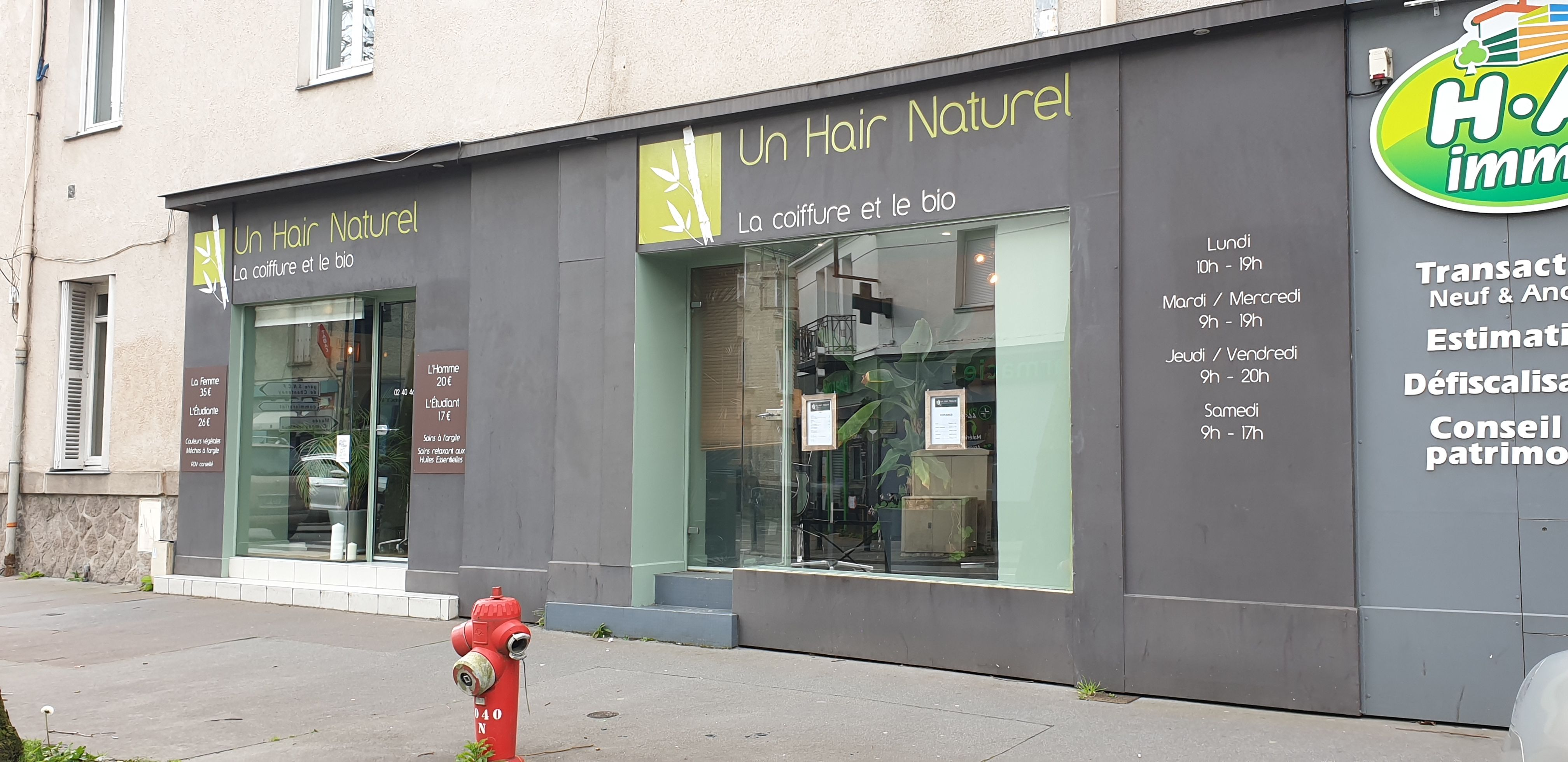 Un Hair Naturel Nantes Salon De Coiffure Coiffure