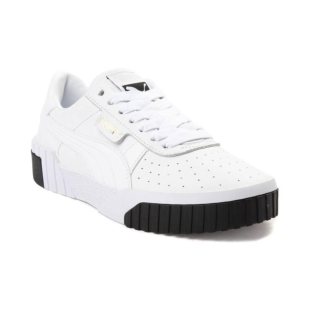 Womens Puma Cali Fashion Athletic Shoe WhiteBlack