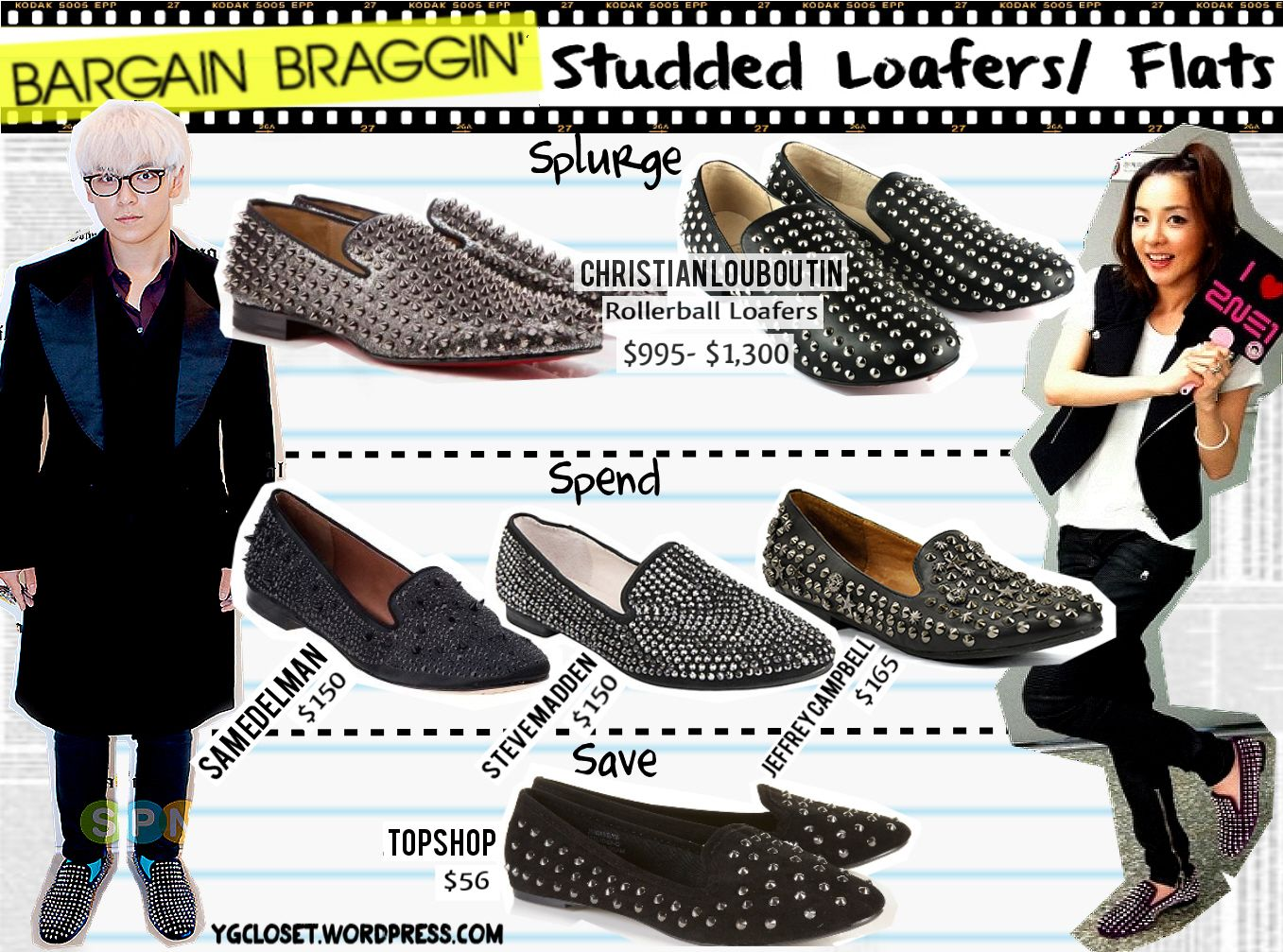 Alternatives to the Christian Louboutin flats. TOPSHOP / Steve Madden  featuring T. and Dara