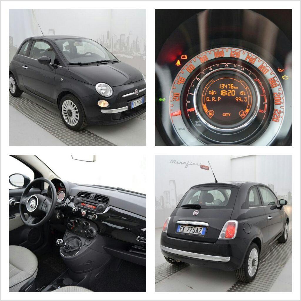 Fiat 500 1 2 69 Cv Lounge Color Nero Vesuvio A 8 200