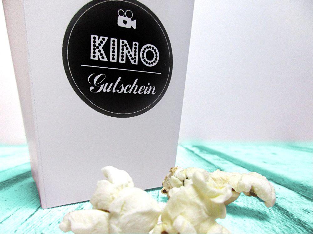 einen kinogutschein verschenken in einer popcornbox geschenkideen verpackung pinterest. Black Bedroom Furniture Sets. Home Design Ideas