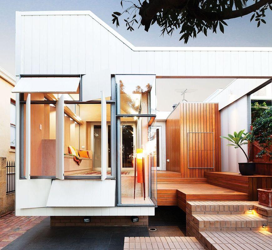 Five new houses in australia and zealand semi detached brutalist contemporary also ebb flow bellevue terrace building design pinterest rh