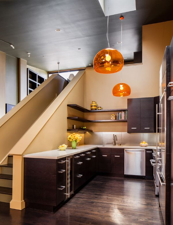 55 amazing space saving kitchens under the stairs space saving kitchen stairs in kitchen on kitchen under stairs id=32057