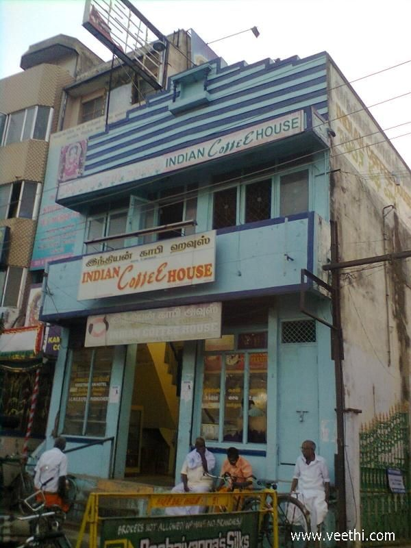 Indian Coffee House At Kanchipuram Indian Coffee Coffee House