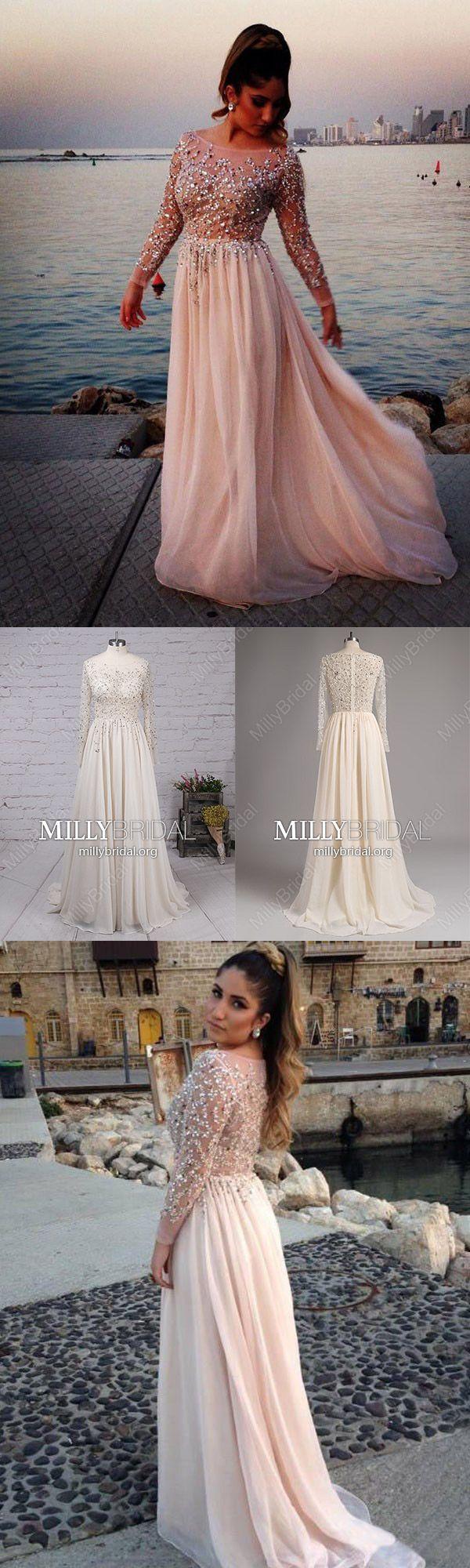 Long prom dresses for teenssparkly formal evening dresses pinklong