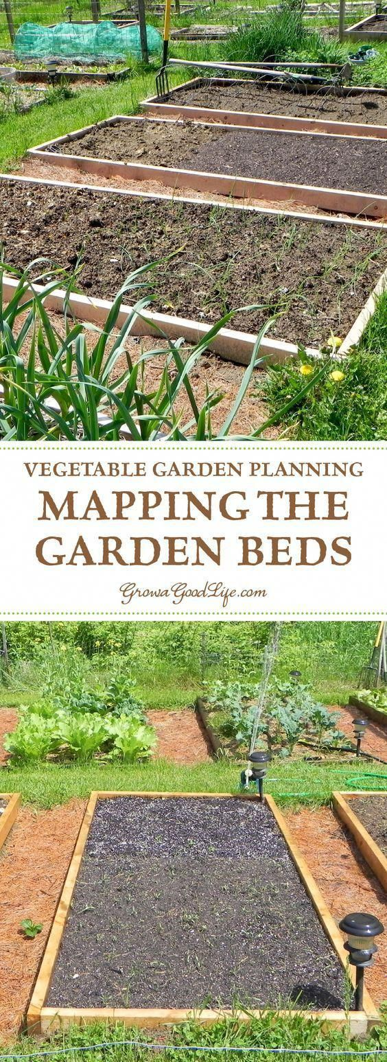 Planning Your Vegetable Garden: Mapping the Garden Beds #erhöhtegartenbeete