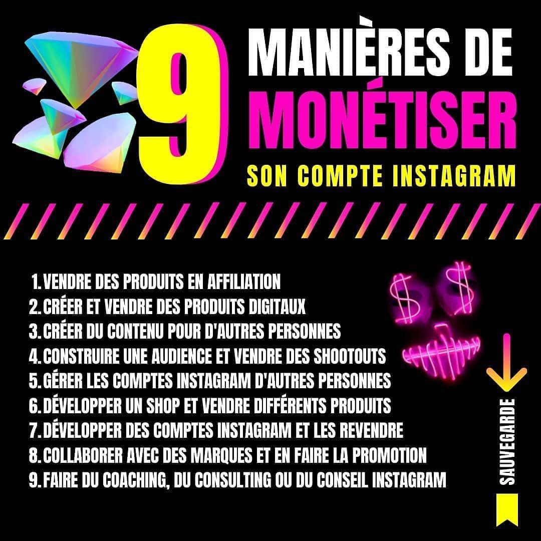9 Mentions J Aime 2 Commentaires Lance Ton Business Lancetonbusiness Sur Instagram Double Tap Si Tu Veux Monetis In 2020 Online Business Instagram Business